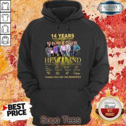 Good Heartland 14 Years 2007 2021 The Memories Hoodie
