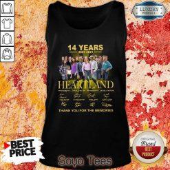 Good Heartland 14 Years 2007 2021 The Memories Tank Top