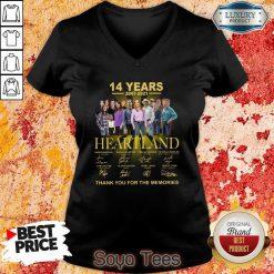 Good Heartland 14 Years 2007 2021 The Memories V-neck