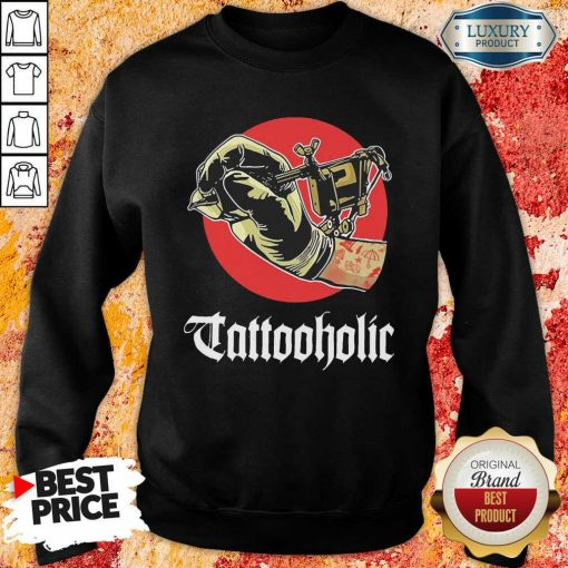 Tattooholic Sweatshirt - Desisn By Soyatees.com