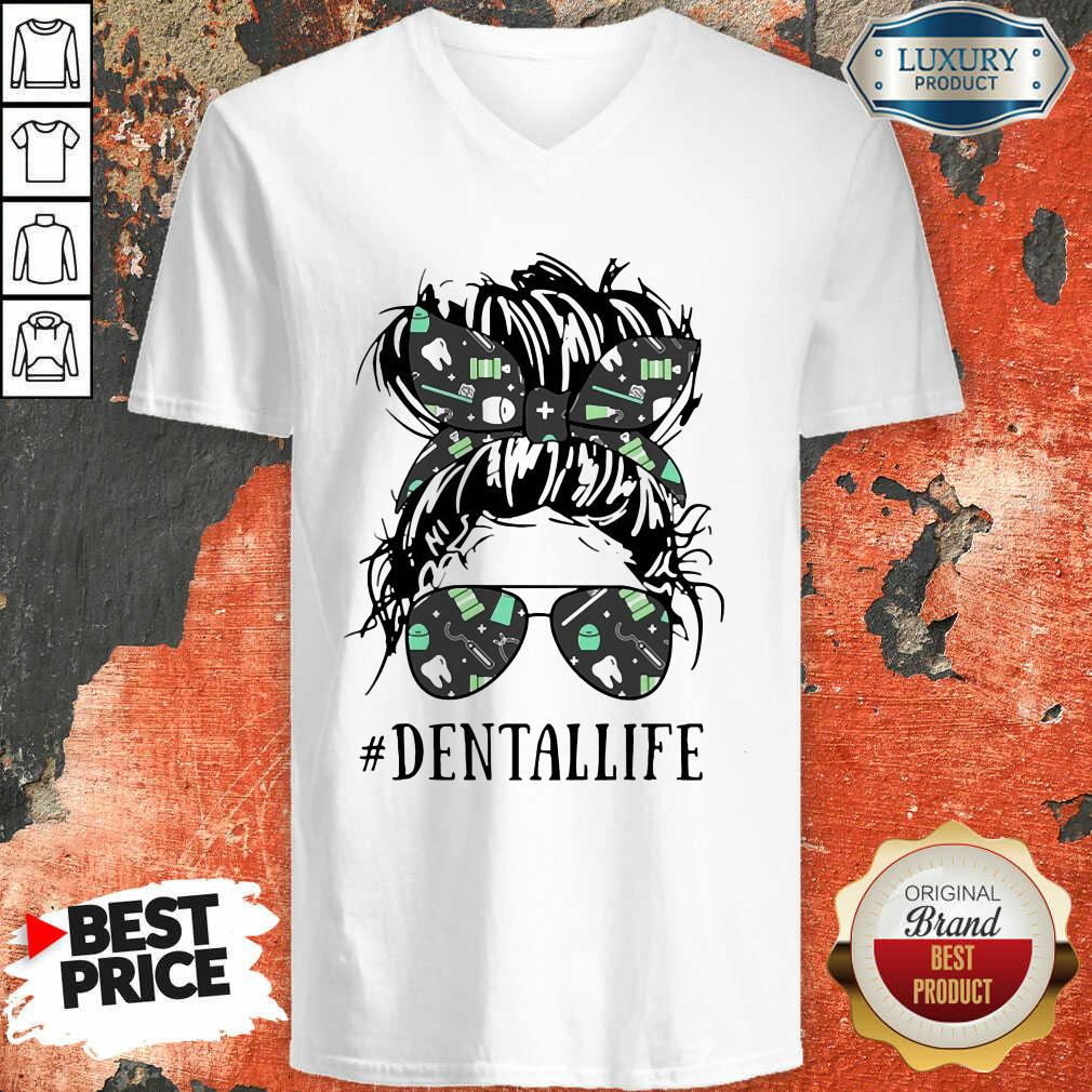 Women Dental Life V-neck - Desisn By Soyatees.com