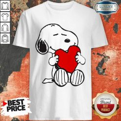 Snoopy Hug Heart Valentines Day Shirt - Desisn By Soyatees.com