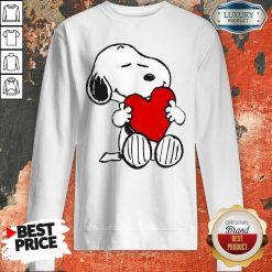 Snoopy Hug Heart Valentines Day Sweatshirt - Desisn By Soyatees.com