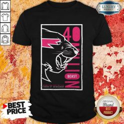 Jaded Mr Beast 40 Million Merch Shirt - Design by Soyatees.com
