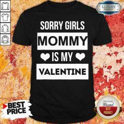 Negative Valentines Day Girls Mommy My Valentine 7 Shirt