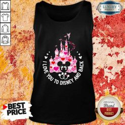 Mickey Mouse I Love You To Disney And Back Tank Top - Desisn By Soyatees.com
