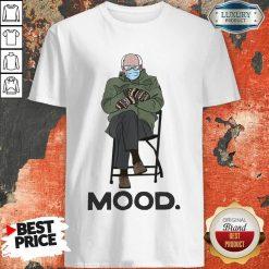 Relaxed Bernie Sanders 10 Mood Shirt - Design by Soyatees.com