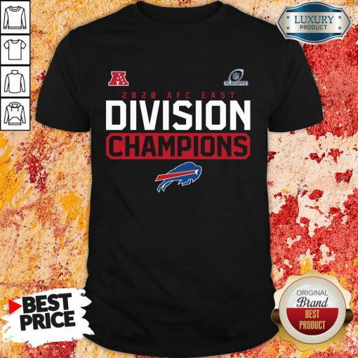 Suspicious Playoffs 2020 AFC East Division Champions 4 Buffalo Bills Shirt - Design by Soyatees.com