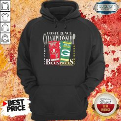 Terrible Green Bay Packers Vs Tampa Bay Buccaneers 2021 NFC Championship Hoodie - Design by Soyatees.com