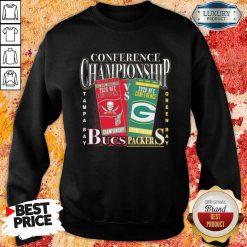 Terrible Green Bay Packers Vs Tampa Bay Buccaneers 2021 NFC Championship Sweatshirt - Design by Soyatees.com