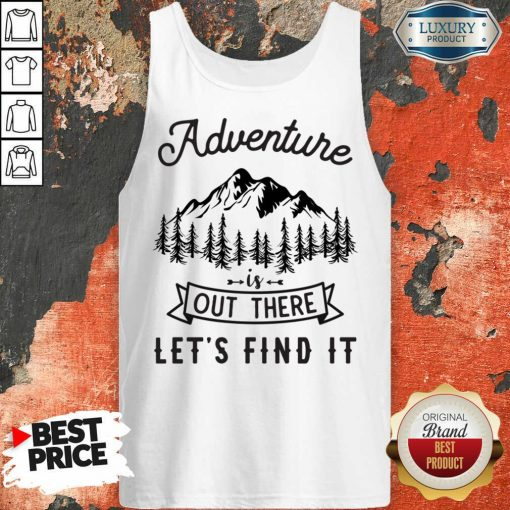 Adventure Is Out There 5 Find It Tank Top - Design by Soyatees.com