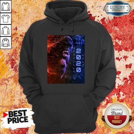 Attractive Filtrados Juguetes Ve Godzilla Vs Kong 2021 Hoodie