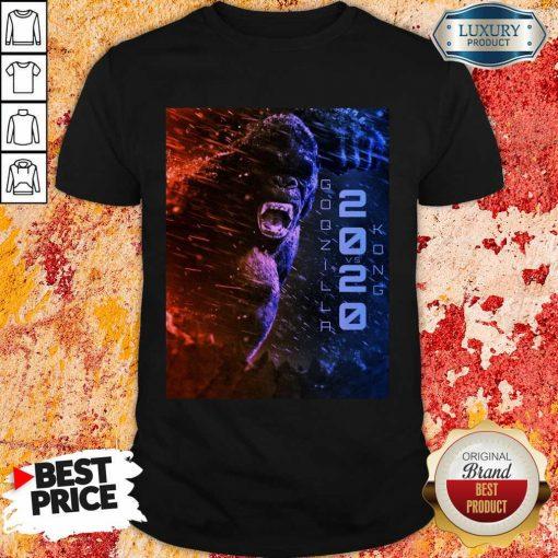 Attractive Filtrados Juguetes Ve Godzilla Vs Kong 2021 Shirt - Design by Soyatees.com