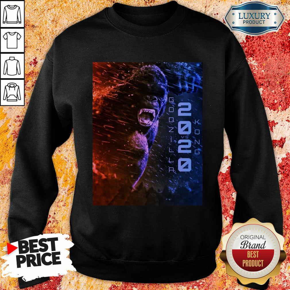 Attractive Filtrados Juguetes Ve Godzilla Vs Kong 2021 Sweatshirt - Design by Soyatees.com