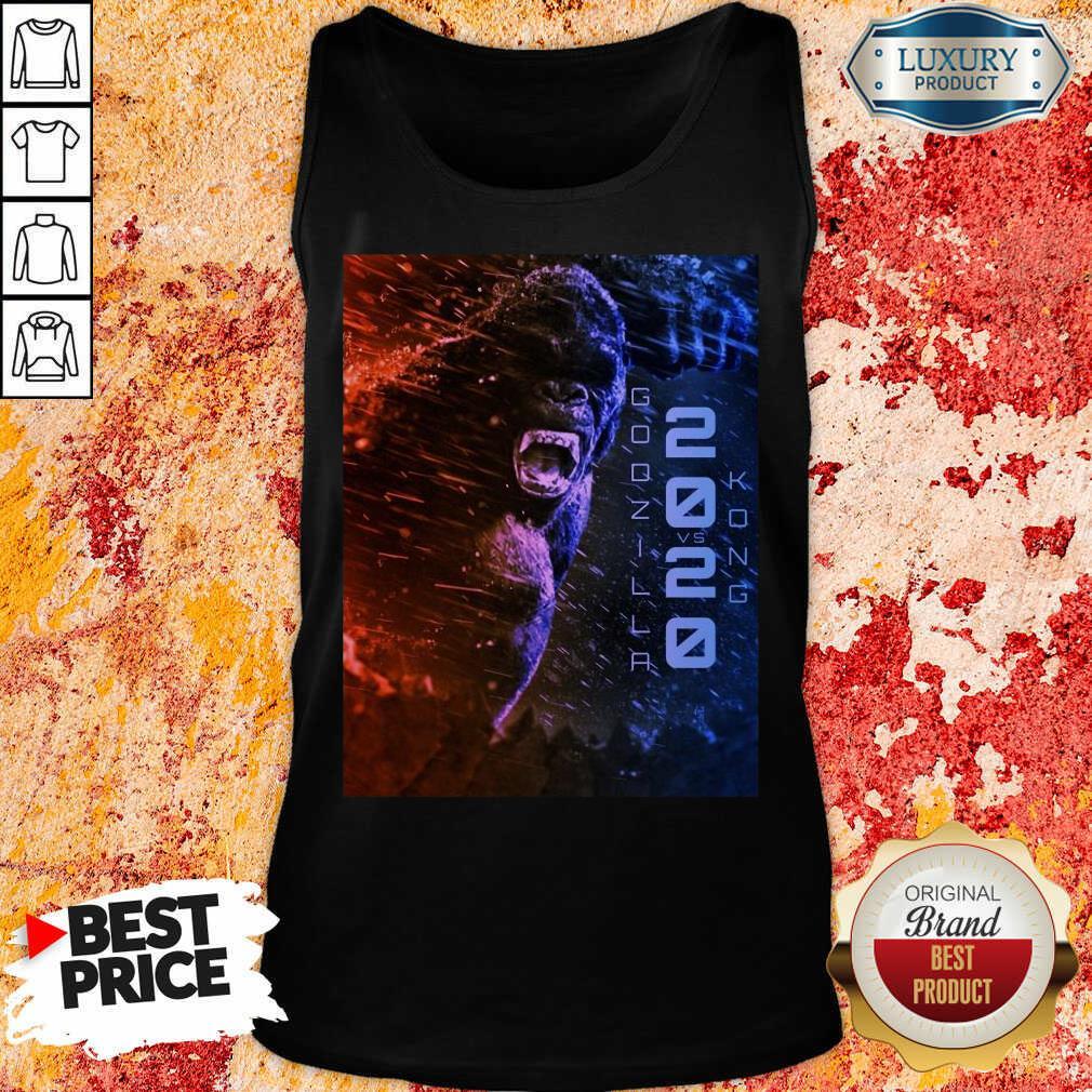 Attractive Filtrados Juguetes Ve Godzilla Vs Kong 2021 Tank Top - Design by Soyatees.com
