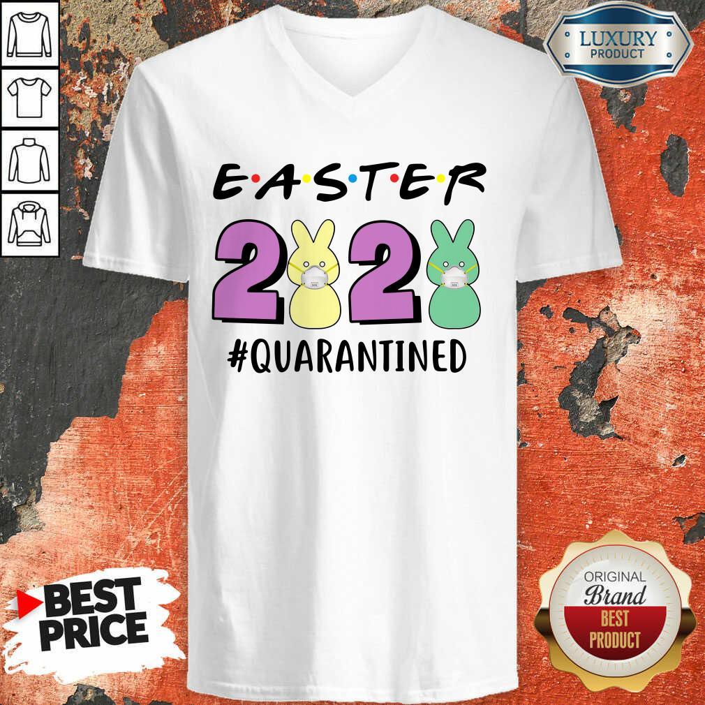 Excellent Super Easter 2020 Quarantined V-neck