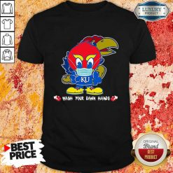 Hot Kansas Jayhawks Damn Hands Covid-19 Shirt