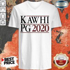 Kawhi Pg 2021 V-neck - Design by Soyatees.com
