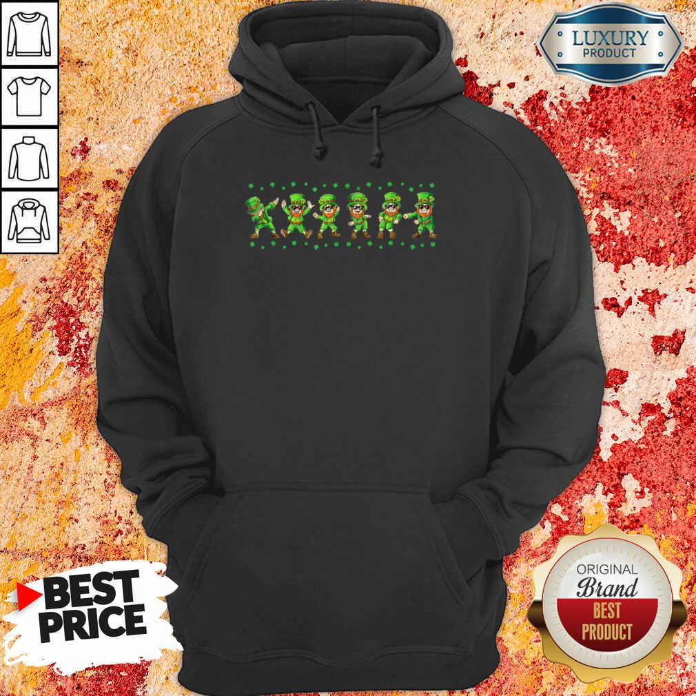 Leprechauns 6 Dancing St Patricks Day Hoodie - Design by Soyatees.com