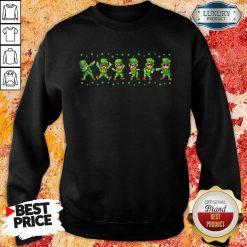 Leprechauns 6 Dancing St Patricks Day Sweatshirt - Design by Soyatees.com