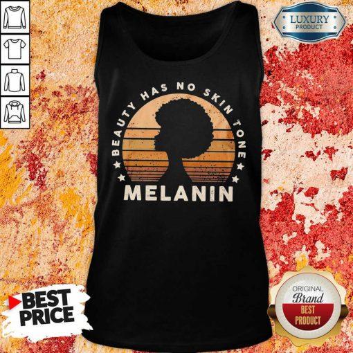 Melanin Beauty Has No 3 Skin Tone Vintage Tank Top - Design by Soyatees.com