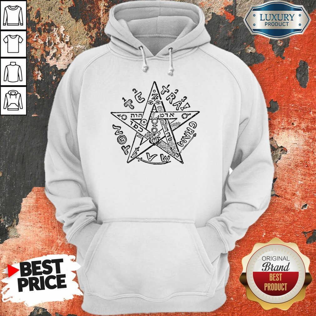 Tetragrammatron 4 Hoodie - Design by Soyatees.com