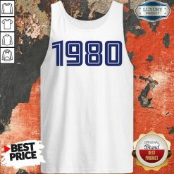 Perfect Personalised Year 1980 Tank Top