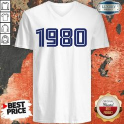 Perfect Personalised Year 1980 V-Neck