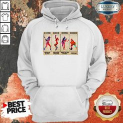Premium Baseball Be Strong When You Are Weak Horizontal Poster Hoodie