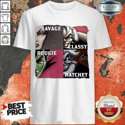 Top Savage Sassy Bougie Rachet Shirt
