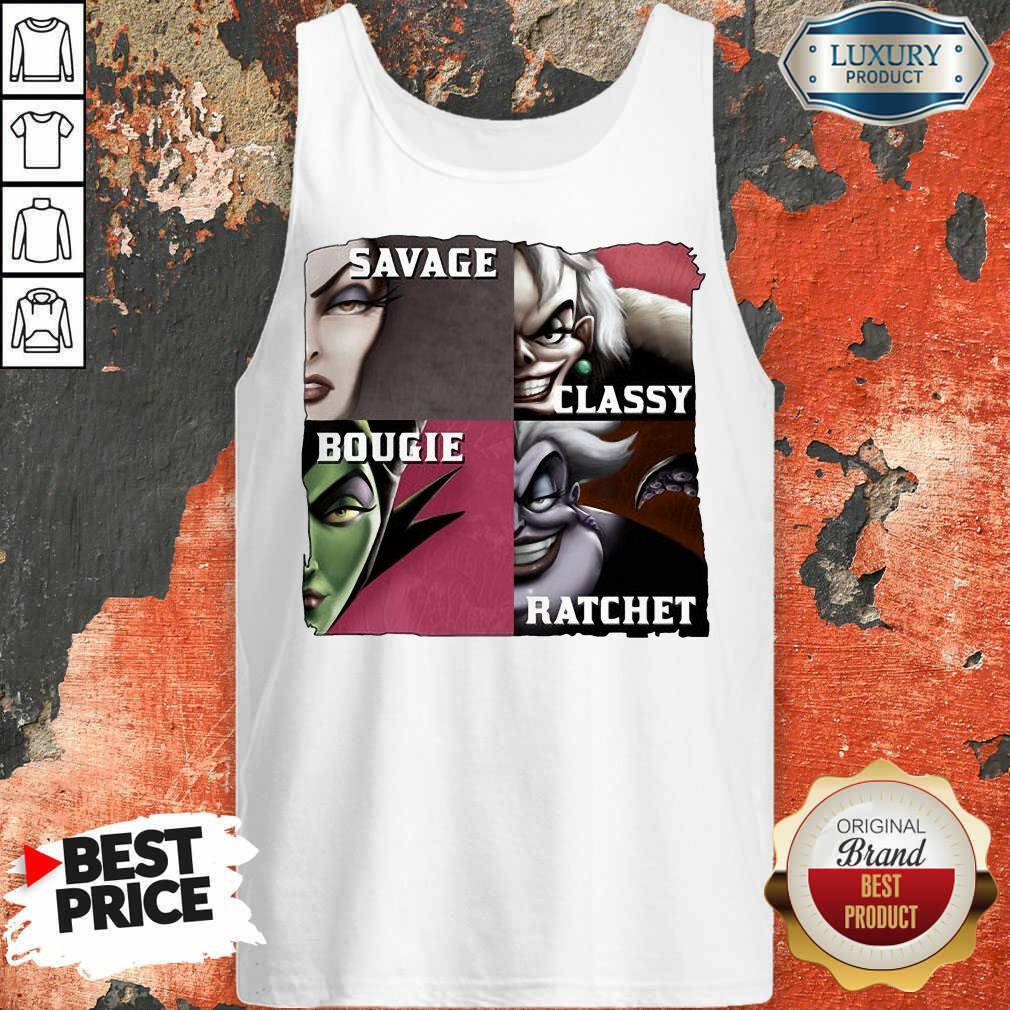 Top Savage Sassy Bougie Rachet Tank Top