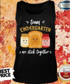 Top We Stick Together Sandwich Team Kindergarten Tank Top