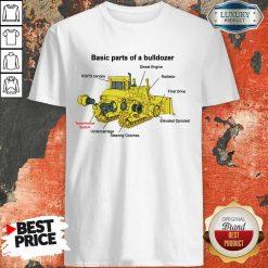 Hot Bulldozer Anatomy Hoodie