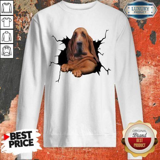 Hot I Love Bloodhound Sweatshirt