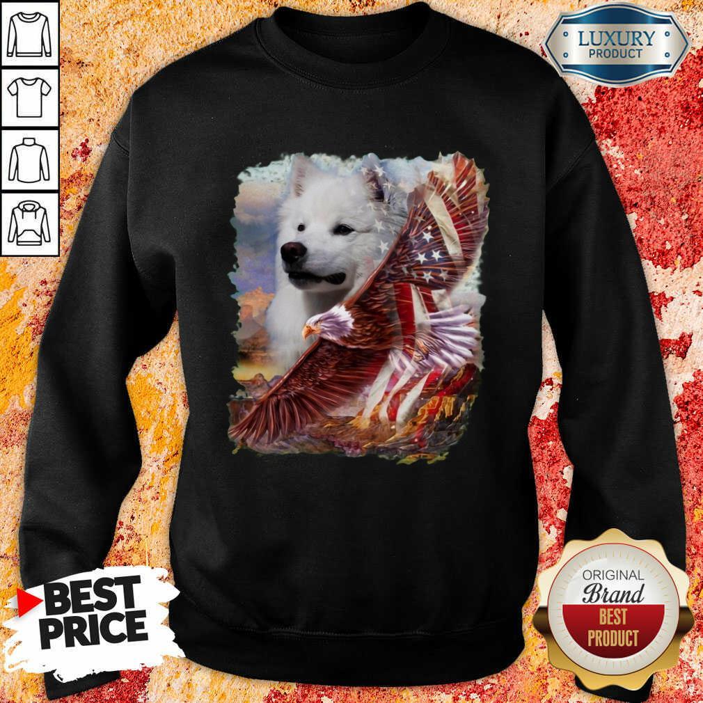 Nice Eskimo American Eagle Patriot For Lover Sweatshirt