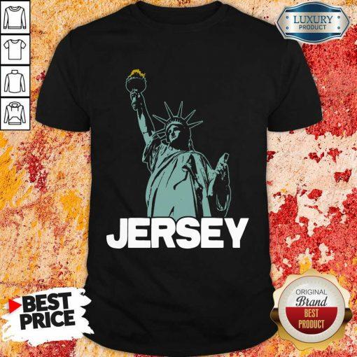 Top New Jersey Statue Of Liberty Shirt