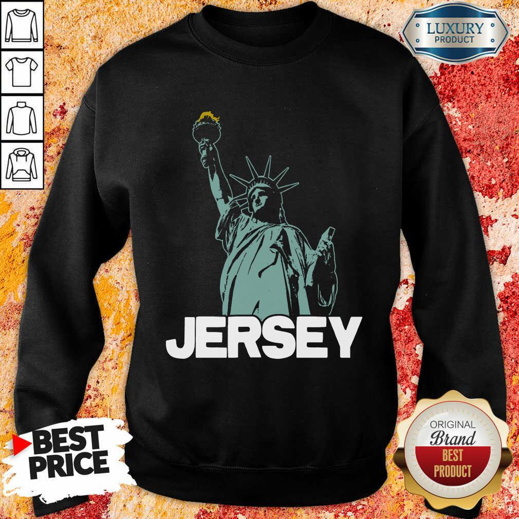 Top New Jersey Statue Of Liberty Sweatshirt