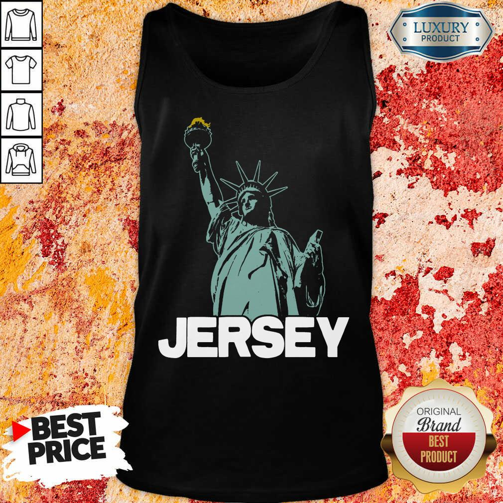 Top New Jersey Statue Of Liberty Tank Top
