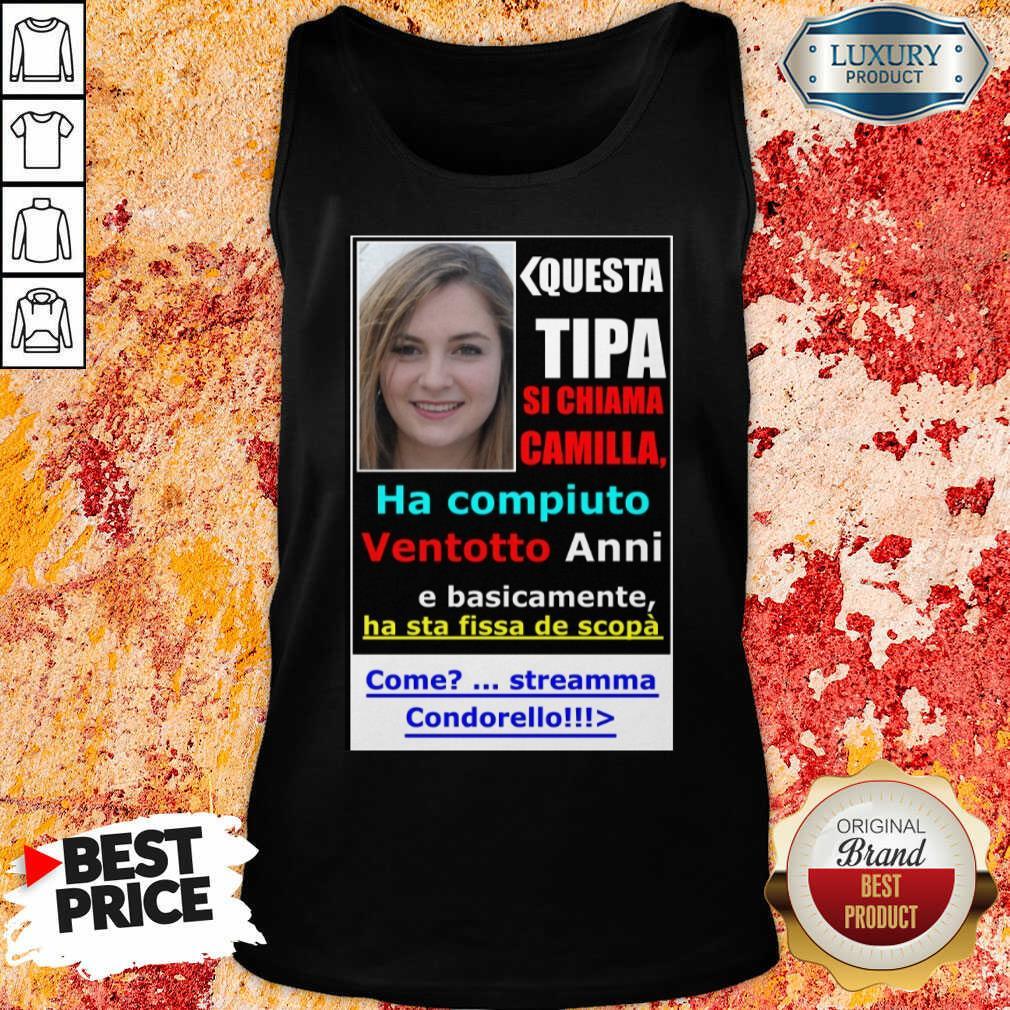 Top Questa Tipa Si Chiama Camilla Tank Top