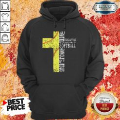 Vip All I Need Today Is A little Bit Of Softball Apparel Hoodie
