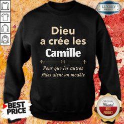 Vip Dieu A Cree Les Camille Sweatshirt