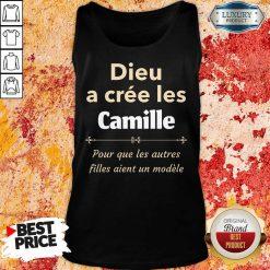Vip Dieu A Cree Les Camille Tank Top