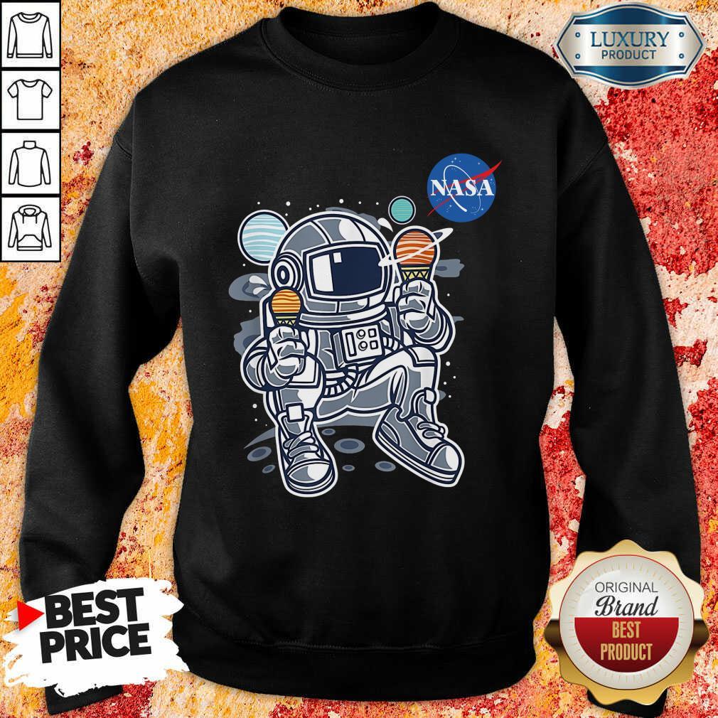 Vip Nasa Ice Cream Sweatshirt