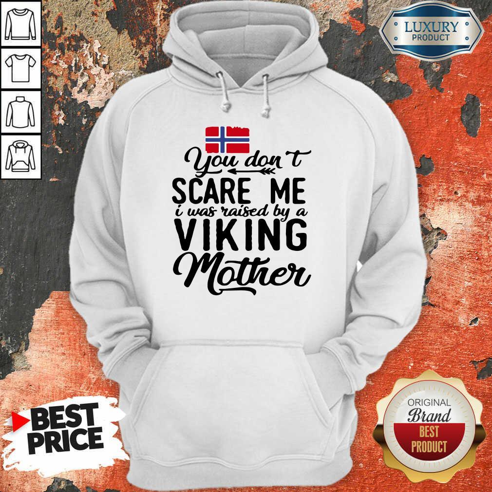 Vip Norwegian Flag Scare Me Viking Mother Hoodie