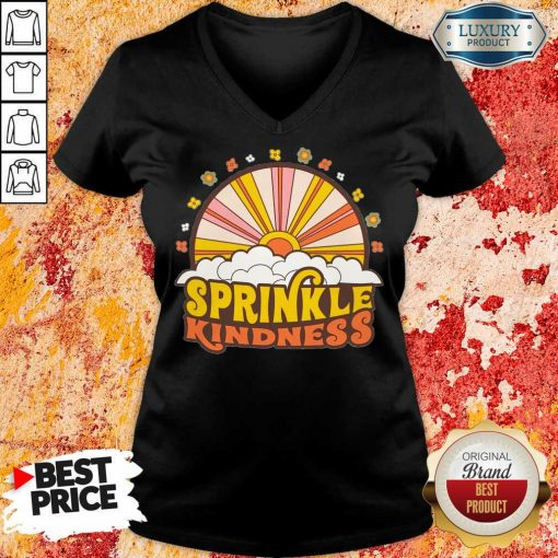 Vip Sprinkle Kindness V-neck