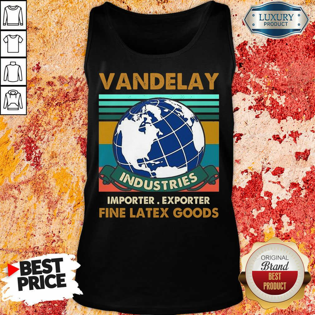 Vip Vandelay Importer Exporter Fine Latex Goods Tank Top