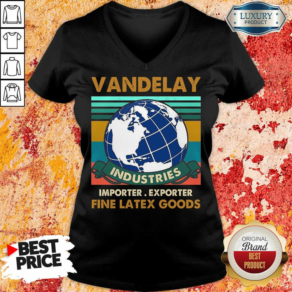 Vip Vandelay Importer Exporter Fine Latex Goods V-neck